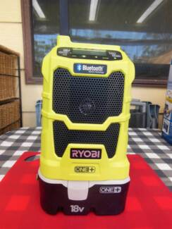 Ryobi 18-Volt ONE+ Compact Radio with Bluetooth