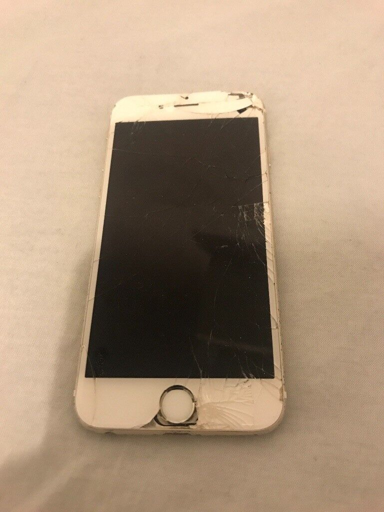 iPhone 6, gold, used, in working condition