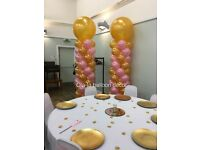 Balloon Decorations/Event decor and Chair covers