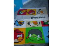 Angry birds single duvet cover & pillow case
