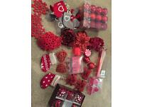 40+ Red Christmas tree decorations