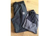 Adidas joggers & t shirt (13-14yrs)