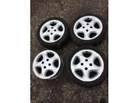 Citroen Saco VTS / Peugeot 106 Gti Speedline Alloy Wheels