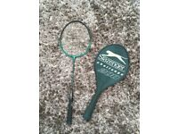 Slazenger Badminton Raquet with protective zipped case. Very lightweight.