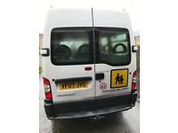 17 seater Vauxhall Movano