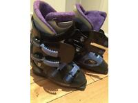 Rossignol and Tecnika ski boots.
