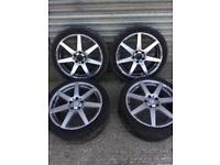 MERCEDES BENZ C CLASS W204 18inch AMG ALLOY WHEEL SET X4 WITH TYRES CALL FOR ANY INFO