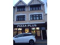 Pizza Plus Restaurant/ takeaway. Located in Town centre.