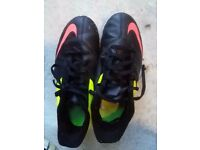 Nick Football boots - UK 5.5 Astro turf plus FOOTBALL, TROPHY