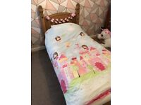 Corona Mexican Solid Pine Single Bed
