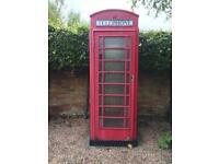 Red British Telephone Box