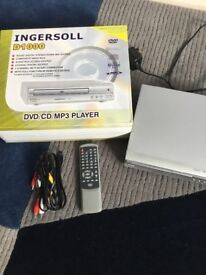 Ingersoll DVD/CD/MP3 Player