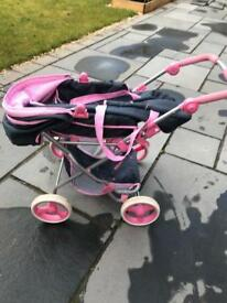 Hauck toy dolls pram