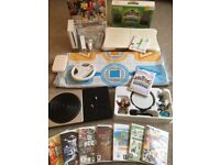 MASSIVE BUNDLE - Nintendo Wii Console + Wii Fit Board + Skylanders + 9 Games + Dance Mat + More