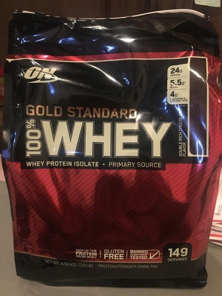 53438c352 Optimum Nutrition 100% Whey Protein Powder 4.5kg Gold Standard ON