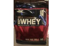 Optimum Nutrition 100% Whey Protein Powder 4.5kg Gold Standard ON