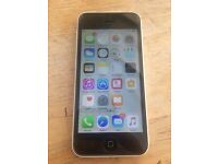 iPhone 5c White 16gb o2