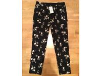 Brand new Next crop trousers with tags on