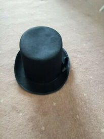 Top hat, black, great condition