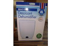 Nearly new MEACO DD8l Dessicant Dehumidifier