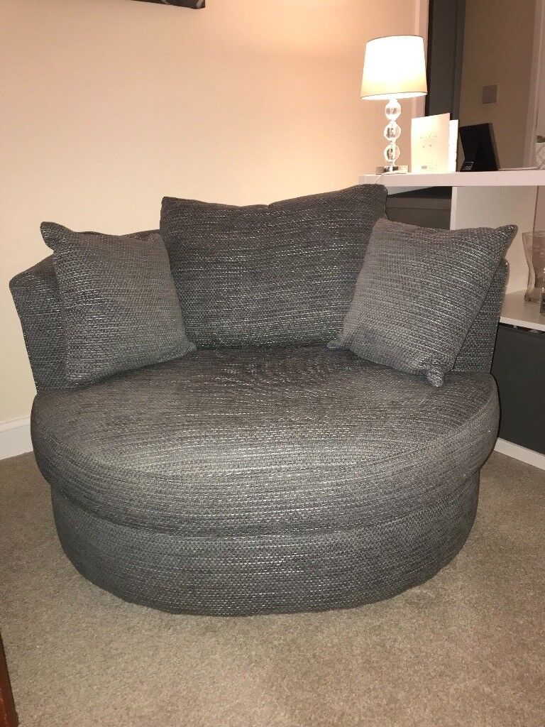 Next Sofa Chair Grey Small 2 Seater Or Large 1 Seater