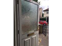 Double glazing door