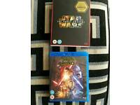 Star Wars The force awakens blue ray. Darkside edition.