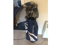 Golf bag with Clubs etc.