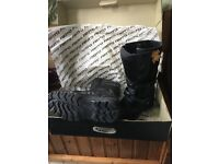 Akito Latitude adventure m/cycle boots. New unused, boxed. Adult Size 7