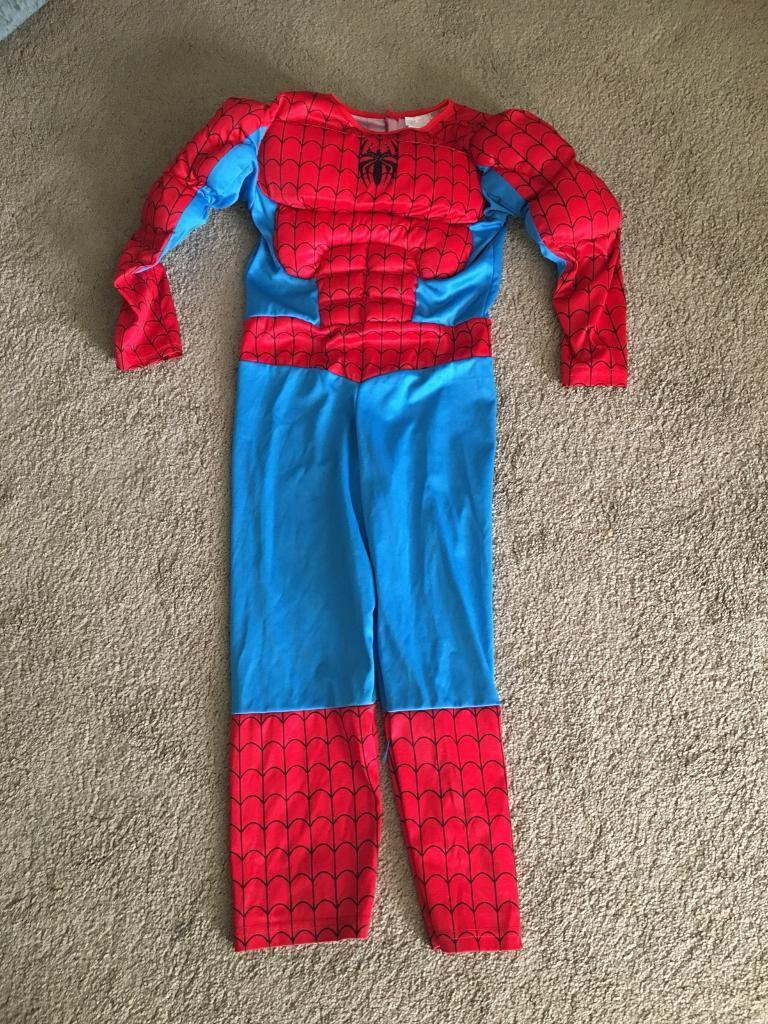 Spider-Man padded costume