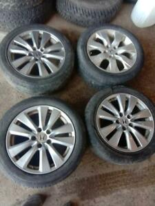 HONDA ACCORD 2009 MAGS WITH SUMMER TYRES 225/50/17