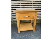 Devon Solid Oak bedside table