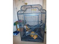 PARROT CAGE LARGE MODEL VERY GOOD DESIGN WITH STAND
