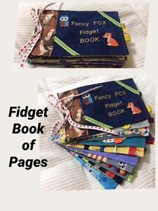 Sensory Fidget Book of Pages.