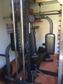 Nautilus Multi Gym Heavy Duty + Nautilus Bench, No Weights