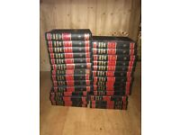 Large collection of encyclopaedias