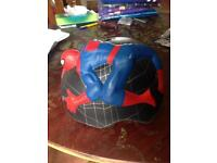 Boys Spiderman bicycle safety crash helmet 49cm - 55cm