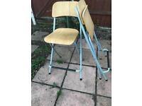 Foldable Ikea bar stools