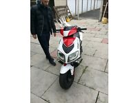 Wk 125cc moped