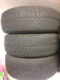 Vredestein Snowtrac 4no Winter Tyres / Steel wheels