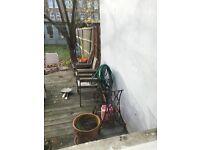 Garden chairs X 4 FREE