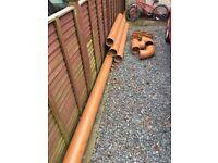 160mm underground waste pipe