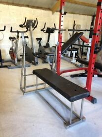 Commercial grade Heavy duty weights bench - gym