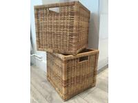 Wicker basketa