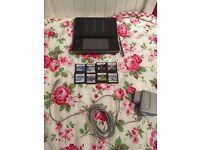 Nintendo DS XL + 8 games
