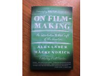 On Film-making: An Introduction to the Craft of the Director by Alexander Mackendrick