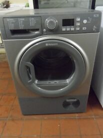 """""""Hotpoint""""Grey 8Kg.....Condenser tumble dryer for sale.Can be delivered."""