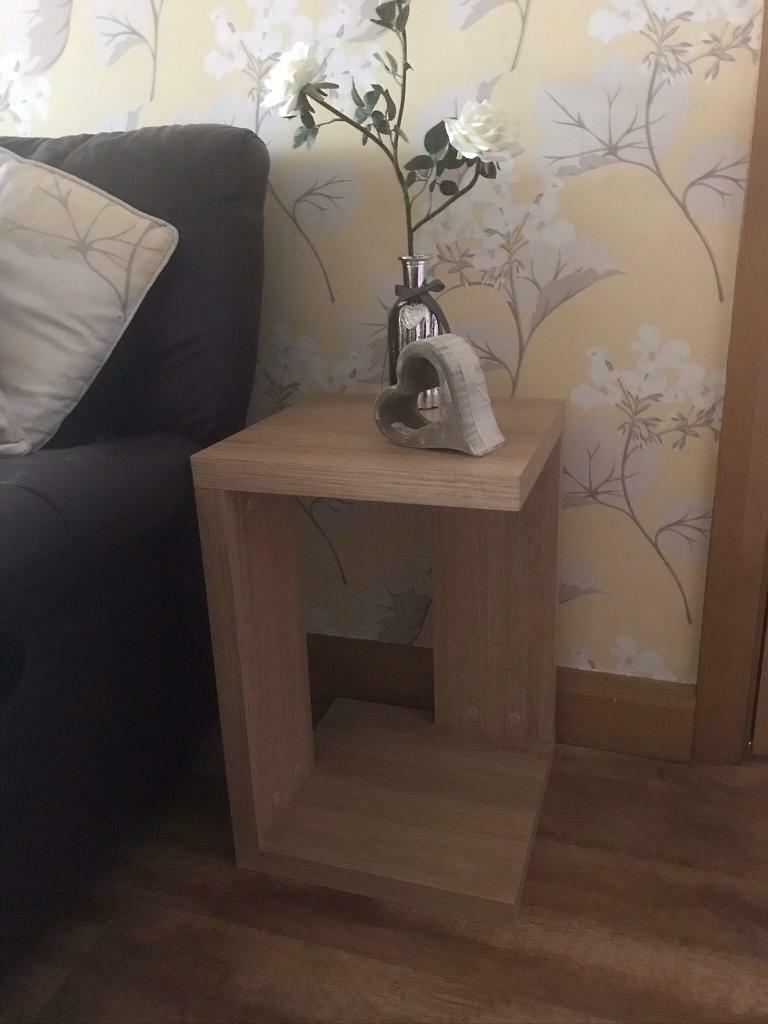 Opus Oak Lamp Table X 2 22 Inch High 14 Width Depth In Castlereagh Belfast Gumtree