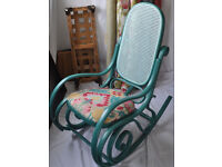 Stunning Vintage bentwood rocking chair