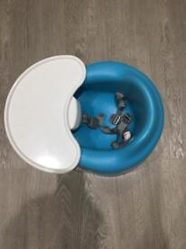 Bumbo Chair with Tray - Blue